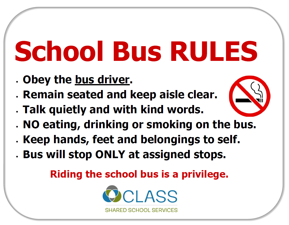 CLASS Shared School Services Chatham-Kent | School Bus Safety